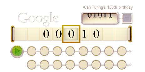 Alan Turing - Doodle
