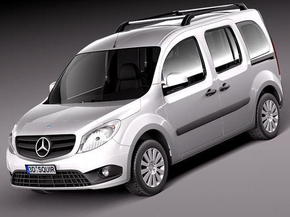 Yeni Mercedes Citan 2013 Özellikleri ve Fotoğrafları