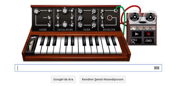 Robert Bob Moog Doodle