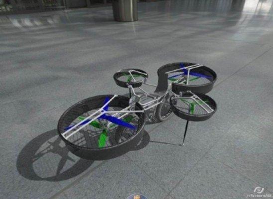 Uçan Motosiklet F-Bike