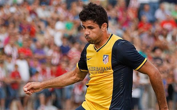 Atletico Madrid'de Diego'dan Mükemmel Gol