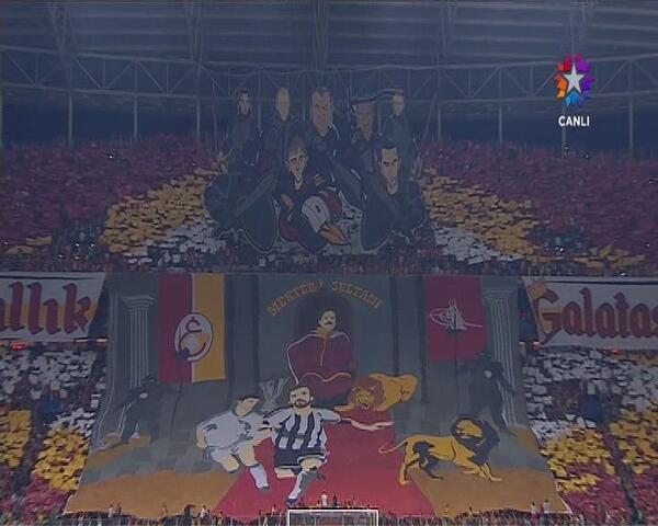 Galatasaray'dan Muhteşem Koreografi – 17 Eylül