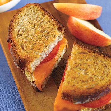 Izgarada Çavdar Sandviç
