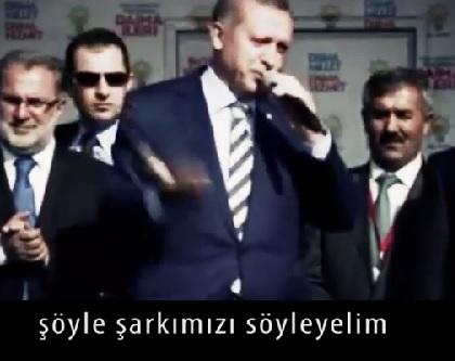 """Tayyip Erdoğan'ın """"Uzun Adam"""" (Remix) Videosu!"""